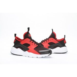 евтини nike air huarache iv 4 мъжки обувки за бягане черно оранжево на едро