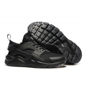 евтини nike air huarache iv 4 мъжки обувки за бягане черни аутлет