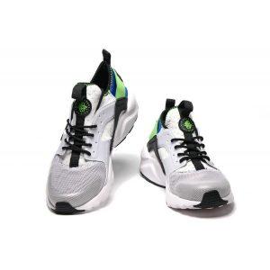 евтини nike air huarache iv 4 мъжки обувки за бягане черни бели зелени разпродажба
