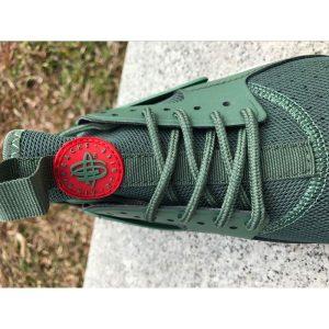 евтини nike air huarache iv 4 мъжки обувки за бягане отразяващи зелено изложение продажба