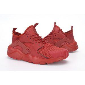евтини nike air huarache iv 4 мъжки обувки за бягане виненочервено на едро
