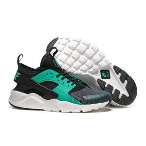 евтини nike air huarache iv 4 дамски обувки за бягане черни зелени аутлет