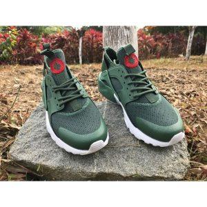 евтини nike air huarache iv 4 дамски обувки за бягане светлоотразително зелено за продажба