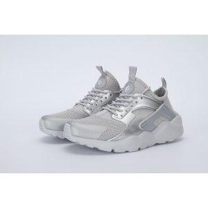 евтини nike air huarache iv 4 дамски обувки за бягане сребристи на едро