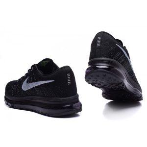 евтини nike air max 2014 мъжки обувки за бягане черни за продажба
