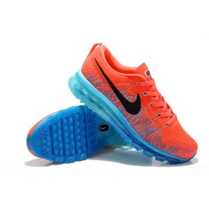 евтини nike air max 2014 мъжки обувки за бягане червено синьо черно аутлет
