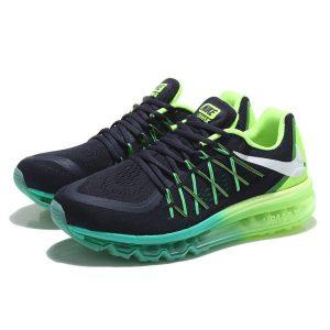 евтини nike air max 2015 мъжки обувки за бягане черни флуоресцентни