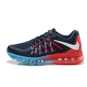 евтини Nike Air Max 2015 маратонки черно червено синьо за продажба