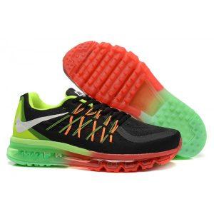евтини nike air max 2015 дамски обувки за бягане черни червени зелени аутлет