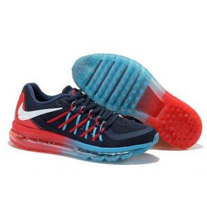 евтини nike air max 2015 дамски обувки за бягане синьо червено нефрит изход