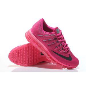 евтини nike air max 2016 дамски обувки за бягане прасковено червено на едро