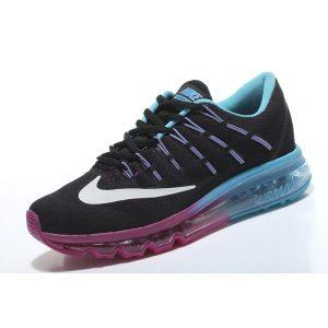 евтини nike air max 2016 женски обувки за бягане розово черно синьо за продажба