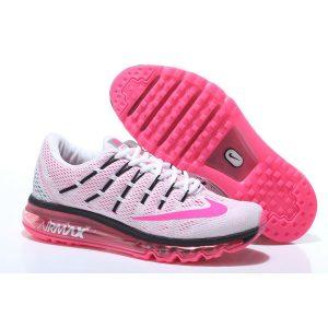 евтини nike air max 2016 дамски обувки за бягане бяла праскова за продажба