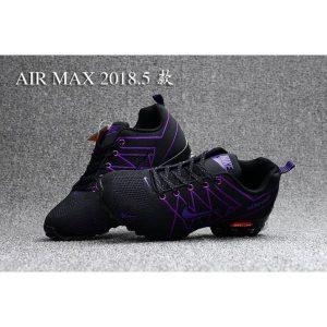 евтини nike air max 2018 мъжки обувки черни лилави аутлет