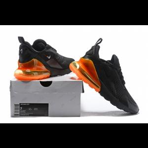 евтини nike air max 270 мъжки обувки черно оранжево продажба