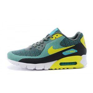 евтини nike air max 90 мъжки обувки за бягане флуоресцентно жълто маслиново зелено за продажба