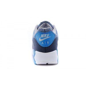 евтини nike air max 90 дамски обувки за бягане тъмно синьо сиво светло синьо продажба