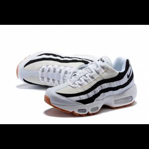евтини nike air max 95 дамски обувки черно бяло оранжево