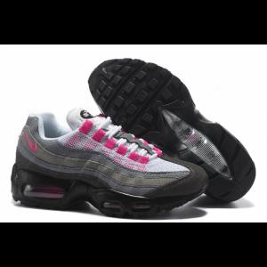 евтини nike air max 95 дамски обувки сиво розово продажба