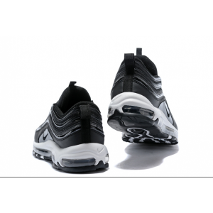 евтини nike air max 97 мъжки обувки бяло черно изход