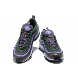 евтини nike air max 97 мъжки обувки бяло черно лилаво