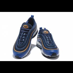 евтини nike air max 97 мъжки обувки бяло синьо изход