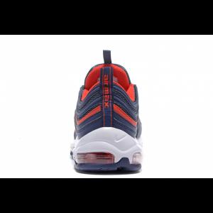 евтини nike air max 97 мъжки обувки бяло синьо червено