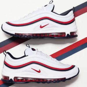 евтини nike air max 97 мъжки обувки бели червени черни аутлет