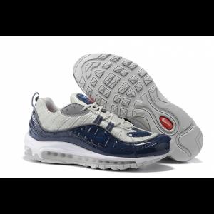 евтини nike air max 98 мъжки обувки синьо сиво продажба