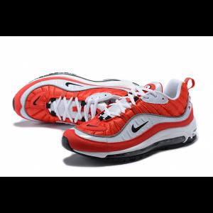 евтини nike air max 98 мъжки обувки червено бяло изложение