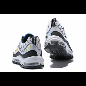 евтини nike air max 98 мъжки обувки бяло синьо продажба