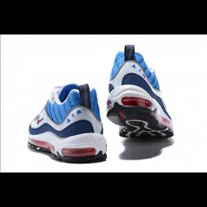 евтини nike air max 98 дамски обувки синьо бяло на едро