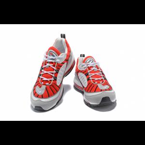 евтини nike air max 98 дамски обувки червено сиво на едро