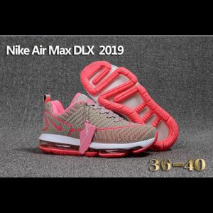 евтини nike air max dlx 2019 дамски обувки сиво розово