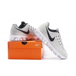 евтини nike air max tailwind 8 мъжки обувки за бягане черно сиво на едро