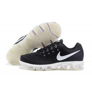 евтини nike air max tailwind 8 мъжки обувки за бягане черно бяло outlet