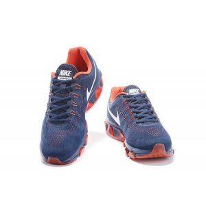 евтини nike air max tailwind 8 мъжки обувки за бягане червено синьо изложение продажба