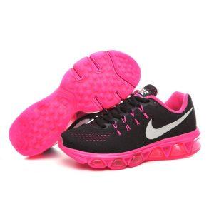 евтини nike air max tailwind 8 дамски обувки за бягане праскова черни аутлет