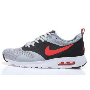 евтини nike air max thea print 2 мъжки обувки за бягане черно червено сиво на едро