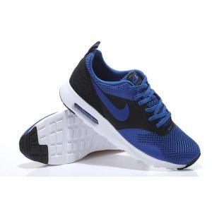 евтини nike air max thea print 2 мъжки обувки за бягане кралско синьо черно за продажба
