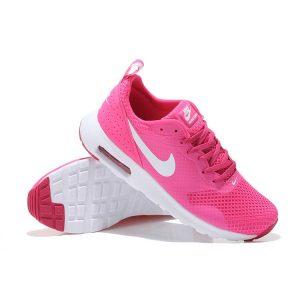 евтини nike air max thea print 2 дамски обувки за бягане розово бяло за продажба