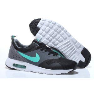 евтини nike air max thea print мъжки обувки за бягане черно сиво синьо на пазара