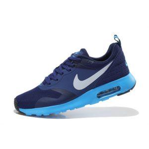 евтини nike air max thea print мъжки обувки за бягане тъмно синьо нефрит