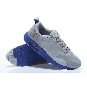 евтини nike air max thea print мъжки обувки за бягане светло сиво синьо на едро
