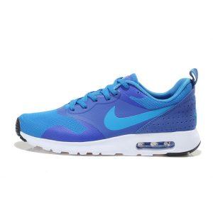 евтини nike air max thea print мъжки обувки за бягане кралско синьо бяло на едро