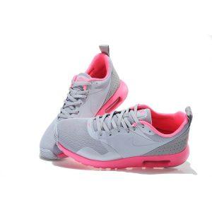евтини nike air max thea print дамски обувки за бягане розово светло сиво аутлет