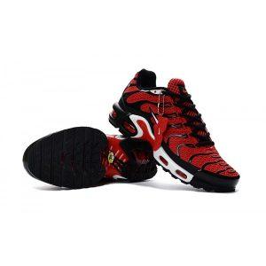 евтини nike air max tn мъжки обувки черно червено за продажба