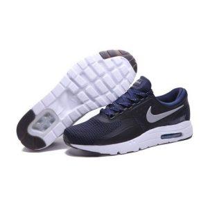 евтини nike air max zero мъжки обувки за бягане черно бяло синьо на едро