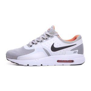 евтини nike air max zero мъжки маратонки бяло сиво оранжево аутлет