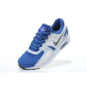 евтини nike air max zero мъжки маратонки бяло кралско синьо на едро